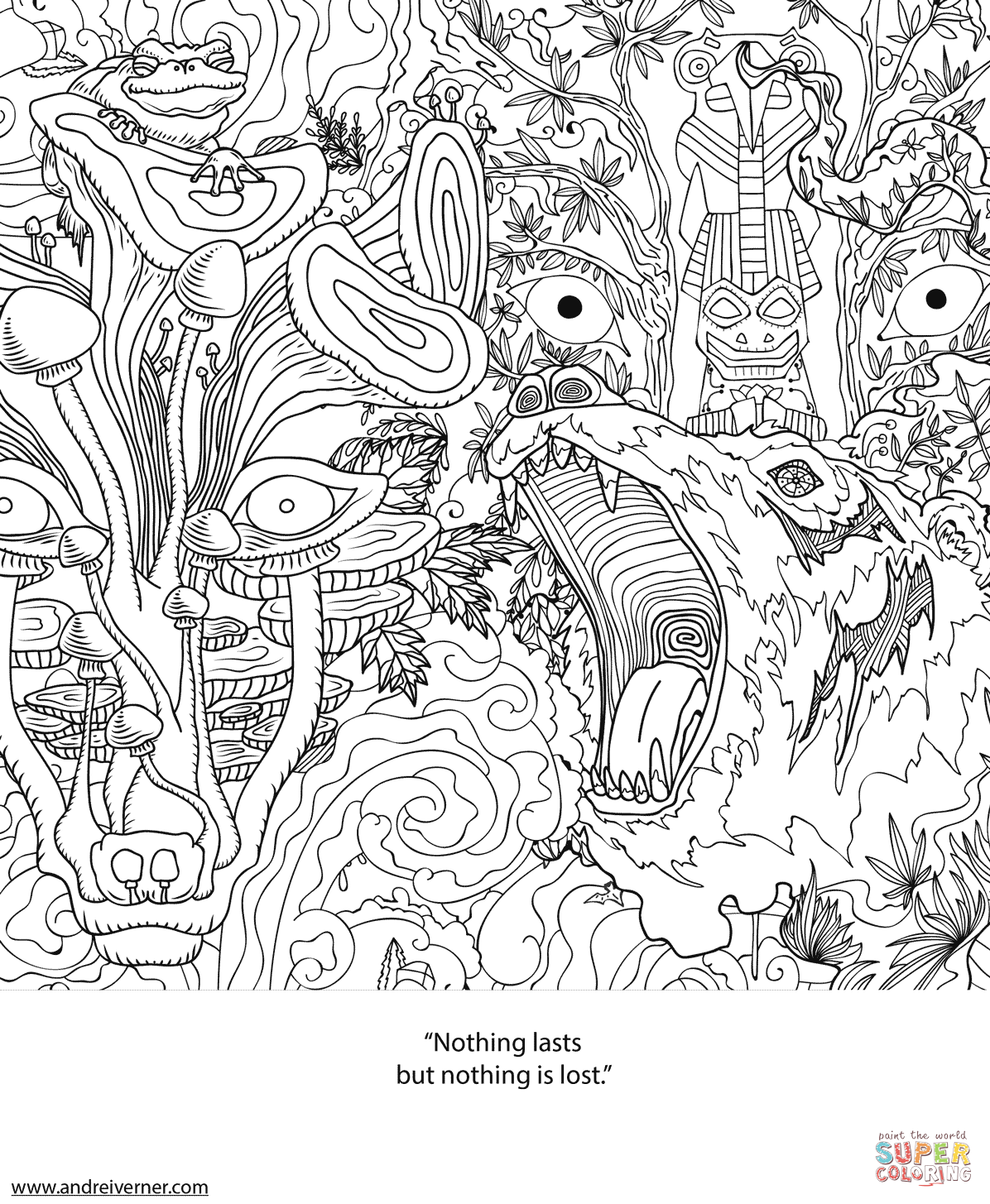 Psychedelic Ornaments 14 Coloring Books