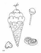 Ice Cream Lollipops