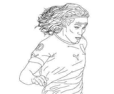 James Rodriguez Coloring Pages ColoringPagesOnly