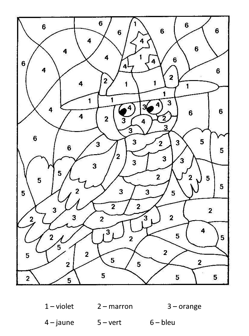 Coloriage Code Simple.Educational Coloring Pages For Kids Coloring Articles