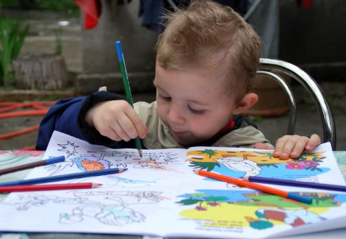 Why coloring pages are vital for your child's healthy development?