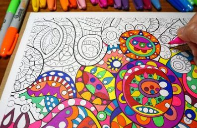 Coloring Supplies for Adults