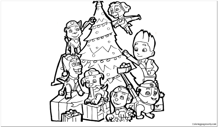 Paw Patrol Coloring Pages Is A Great Gift For Kids - Coloring Articles - Coloring  Pages For Kids And Adults