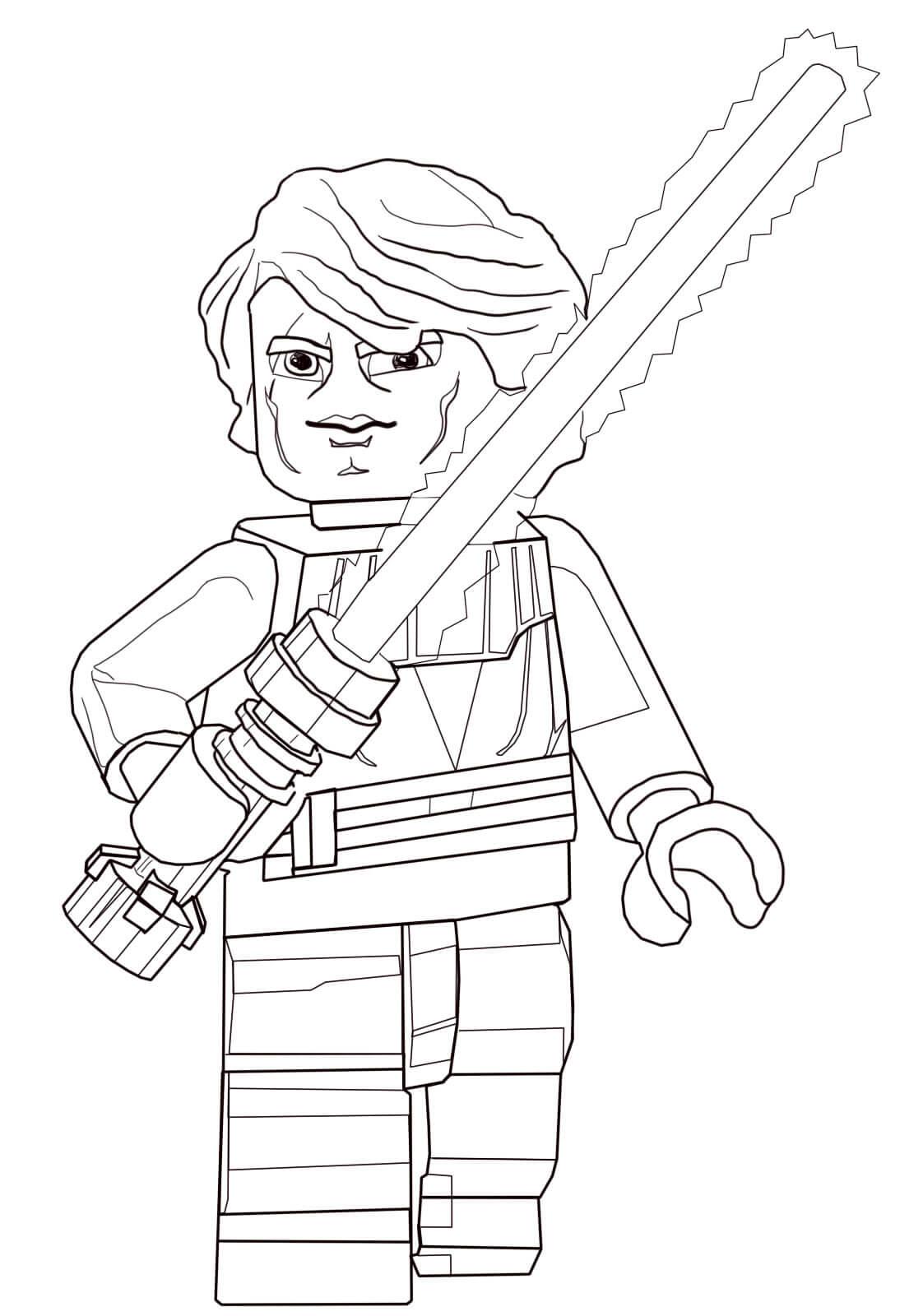 Anakin Skywalker from Lego Star Wars