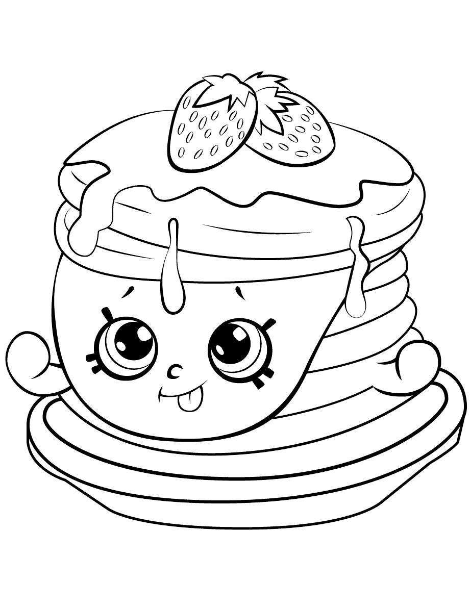 Berry Sweet Pancakes Shopkins Season 6