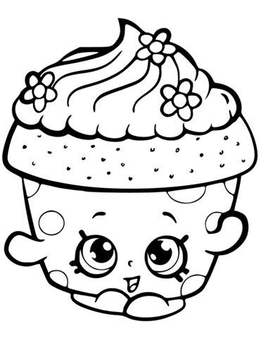 Cupcake Petal Shopkin Season 6