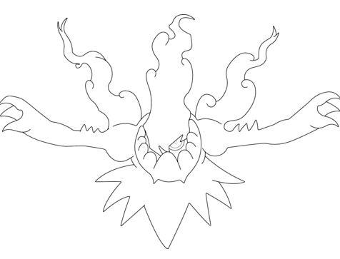 Darkrai Incinerating the Night From Pokemon