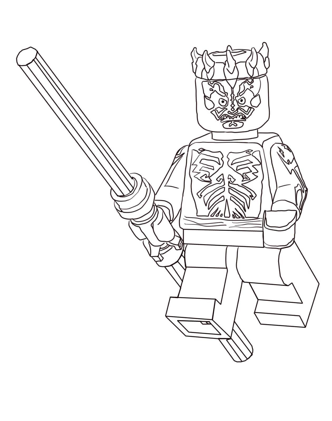 Darth Maul from Lego Star Wars