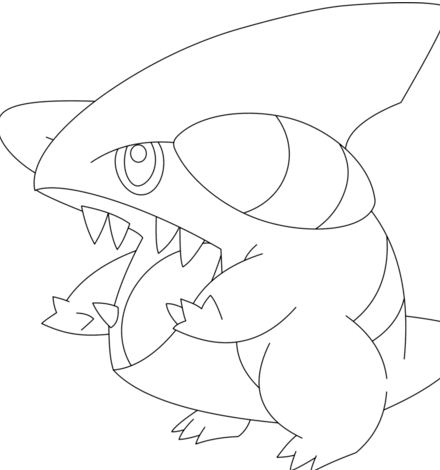 Gible Pokemon