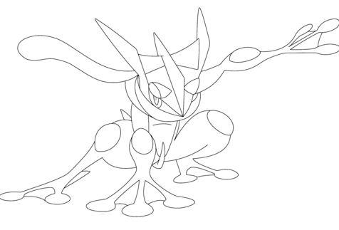 Greninja Pokemon