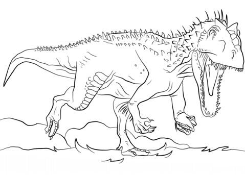 Jurassic Park Indominus Rex