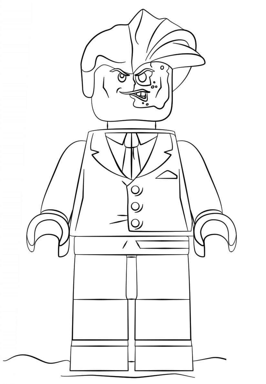 Lego Batman Movie Two Face