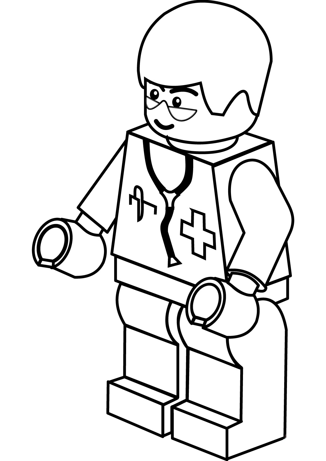 Lego City Doctor Man