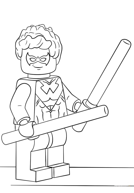 Lego Super Heroes Nightwing