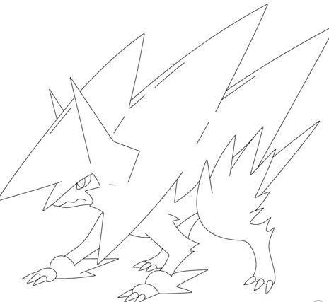 Mega Manectric Pokemon