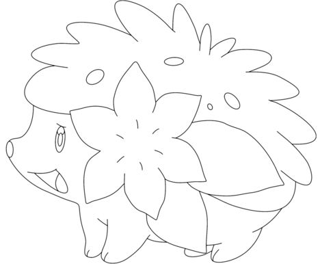 Shaymin In Land Form