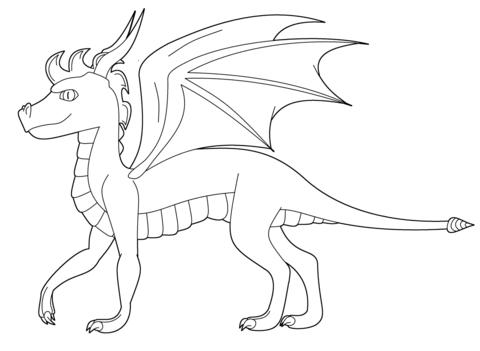 Spyro the Dragon from Dragon
