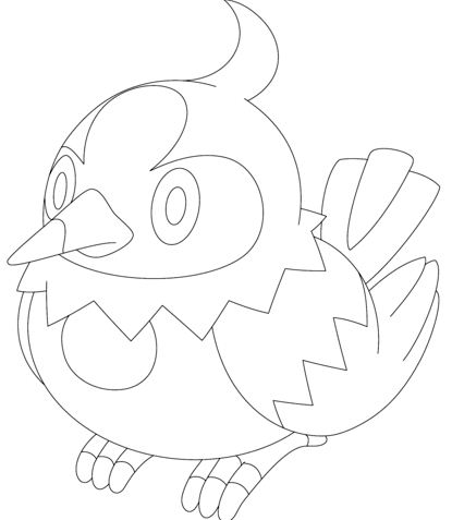 Starly Pokemon