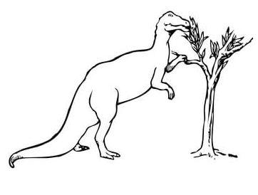 Trachodon Dinosaur