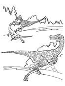 Velociraptor From Dinosaurs