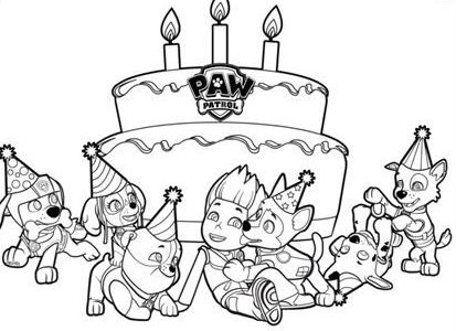 Sea Paw Patrol Coloring Page Free Coloring Pages Online