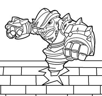 Flameslinger coloring pages ~ Skylanders Coloring Pages - ColoringPagesOnly.com