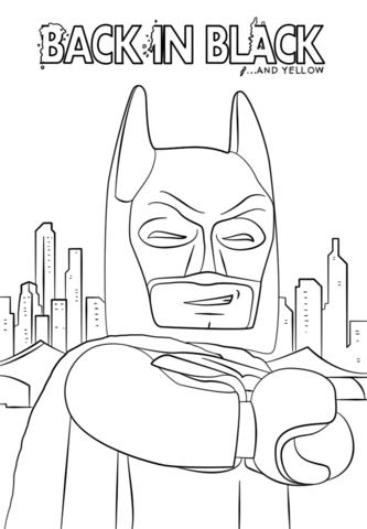 Lego Batman Back in Black