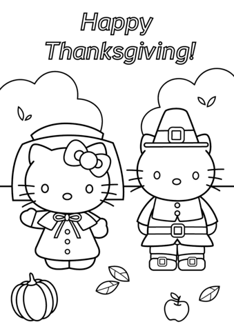 Hello Kitty and Daniel Thanksgiving