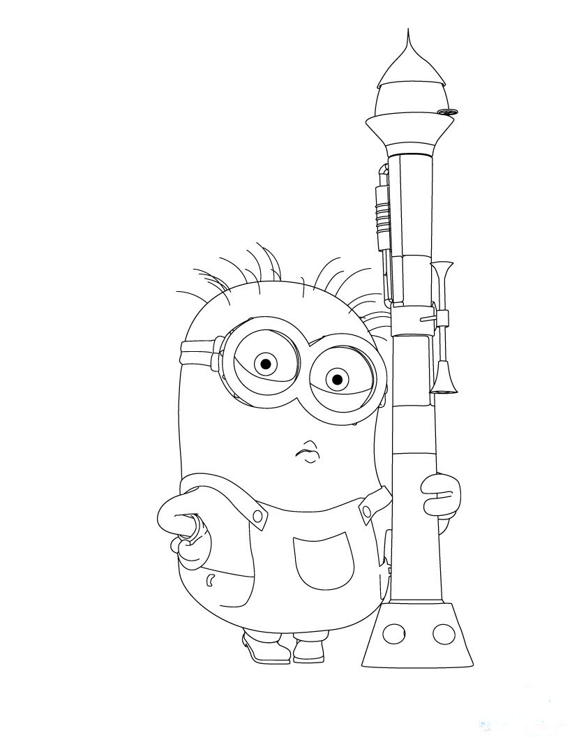 Minion Trumpet Despicable Me2