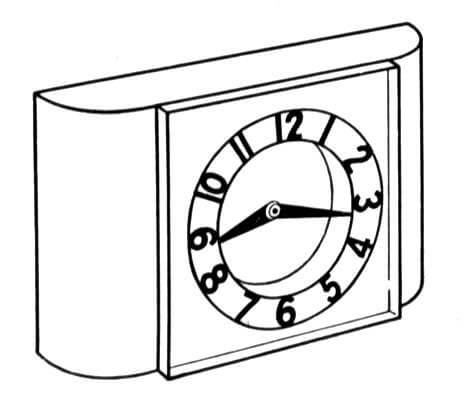 Desk and Table Clock
