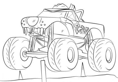 Taz Freestyle Monster Truck