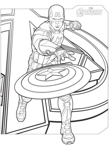 Superhero Avengers Captain America