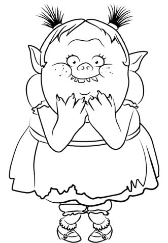 Bridget From Trolls