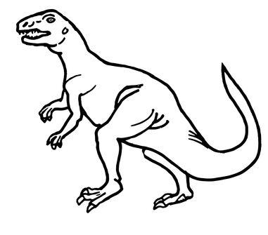 Teratosaurus Triassic Dinosaur