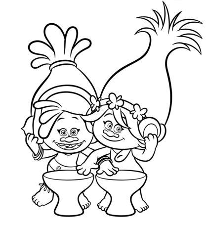 Dj Suki & Poppy From Trolls