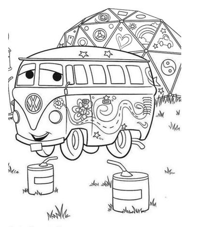 The Fillmore Coloring Page