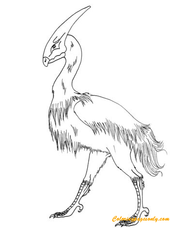 Pterox The Dinobird Coloring Page