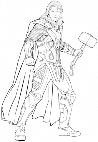 Thor from Avengers