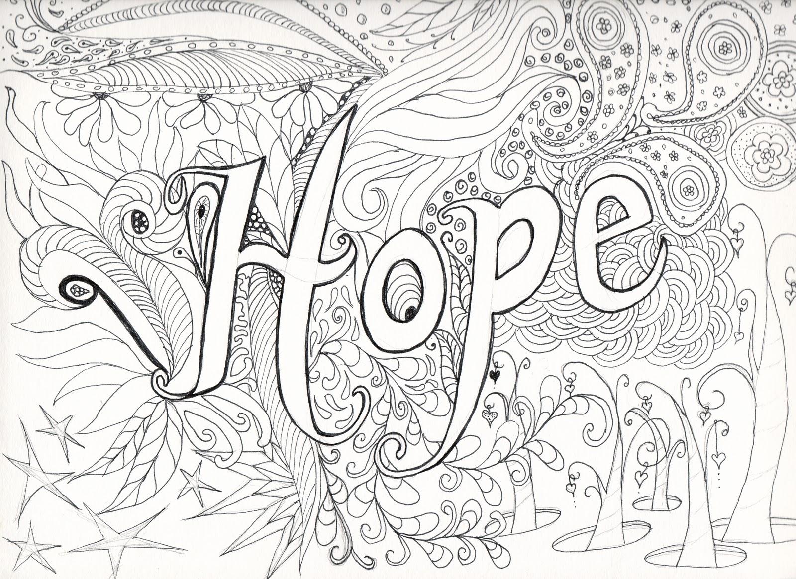 Letter Hope
