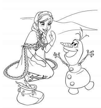 Anna And Olaf 1