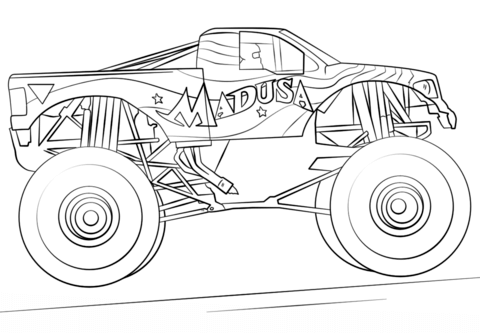 Monster Truck Madusa