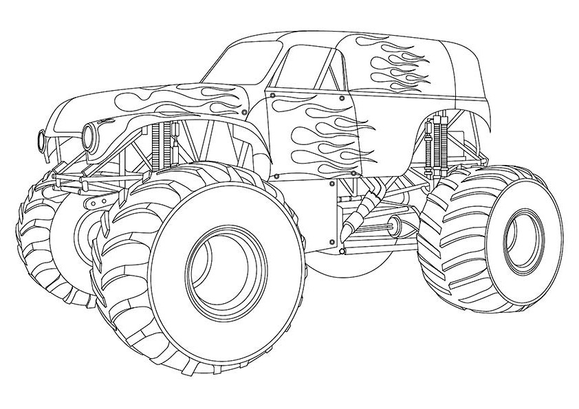Design Maximum Destruction Monster Truck