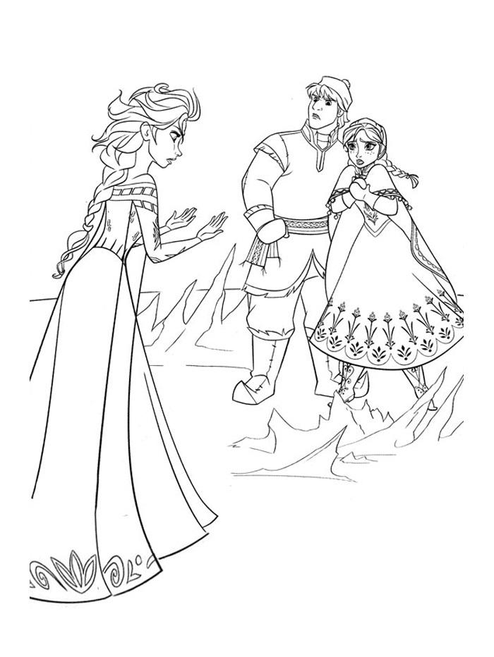 Anna, Kristoff And Elsa