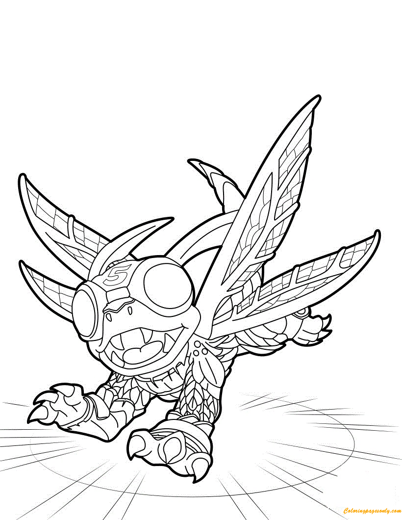 High Five Skylanders Coloring Page - Free Coloring Pages Online