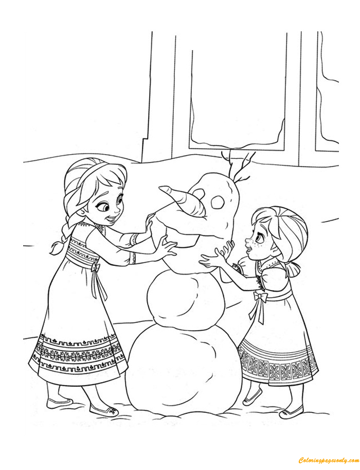 Schuyler Sisters - Coloring Pages - Hand-drawn illustrations by ... | 914x700