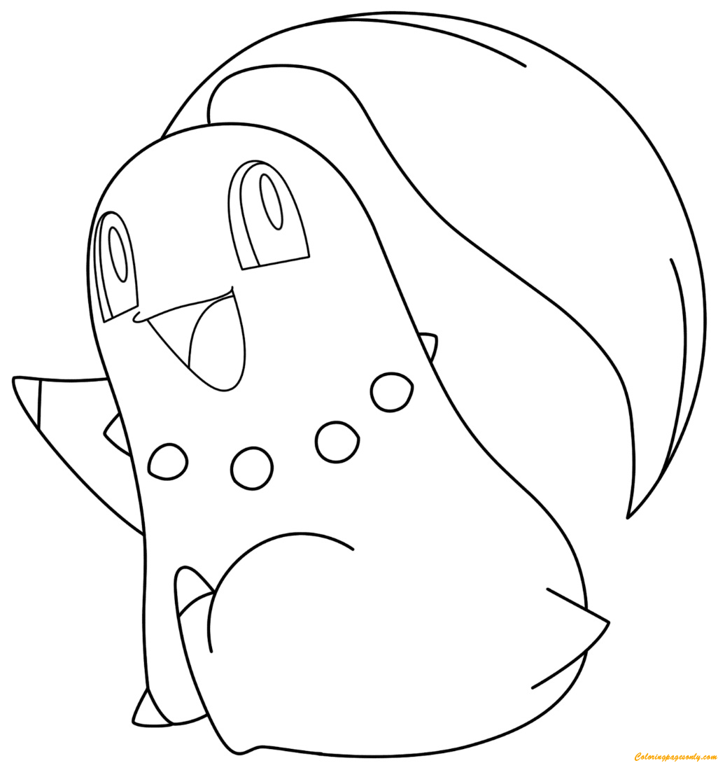 Chikorita Pokemon Coloring Page Free Coloring Pages Online