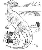 Pachycephalosaurus Cretaceous Period Dinosaur