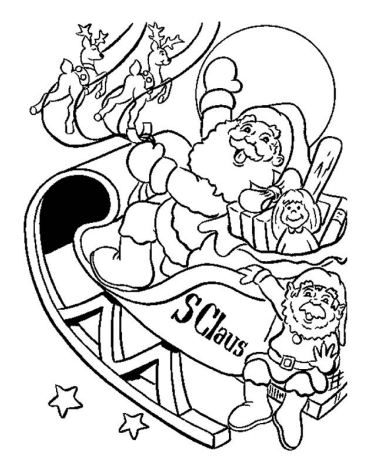 The Christmas Sleigh