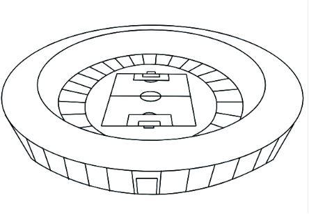 2018 World Cup Soccer Stadium