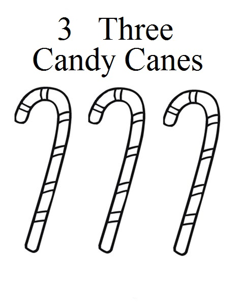 3 Candy Canes